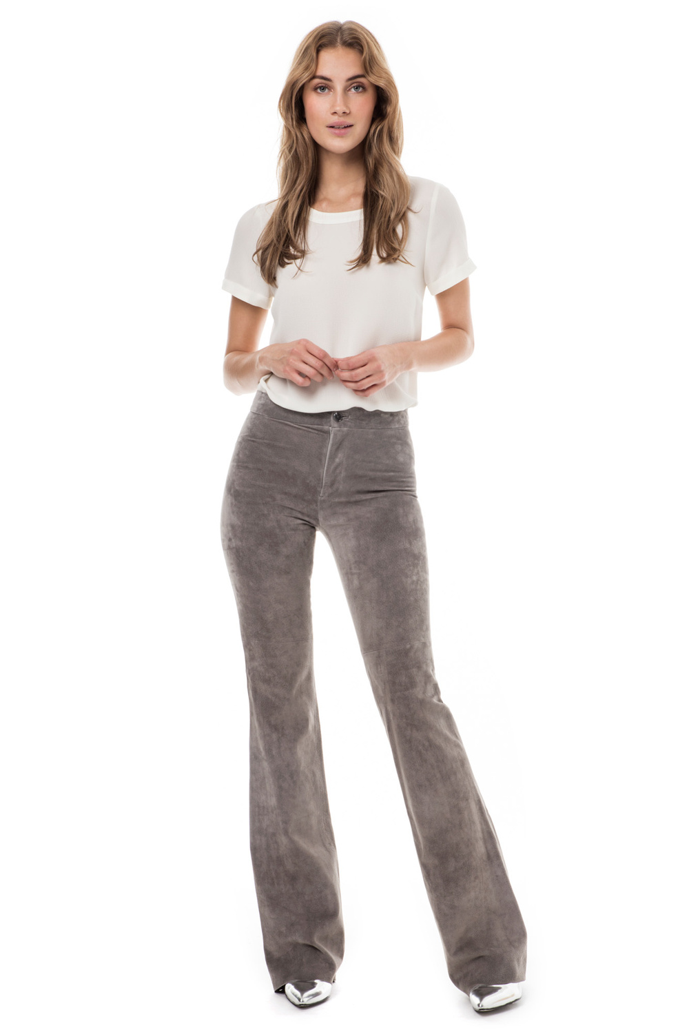 Product thumbnail of Aliyah suede pants